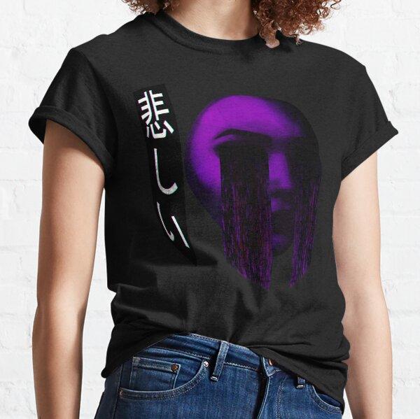 Sad Japanese Aesthetic - Vaporwave Sadness Classic T-Shirt