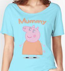Mummy Pig Women's Relaxed Fit T-Shirt