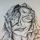 Self portrait  by Michelle Pullen
