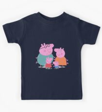 Peppa Family Kids Tee