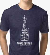 64/65 World's Fair - Tower of the Four Winds Tri-blend T-Shirt