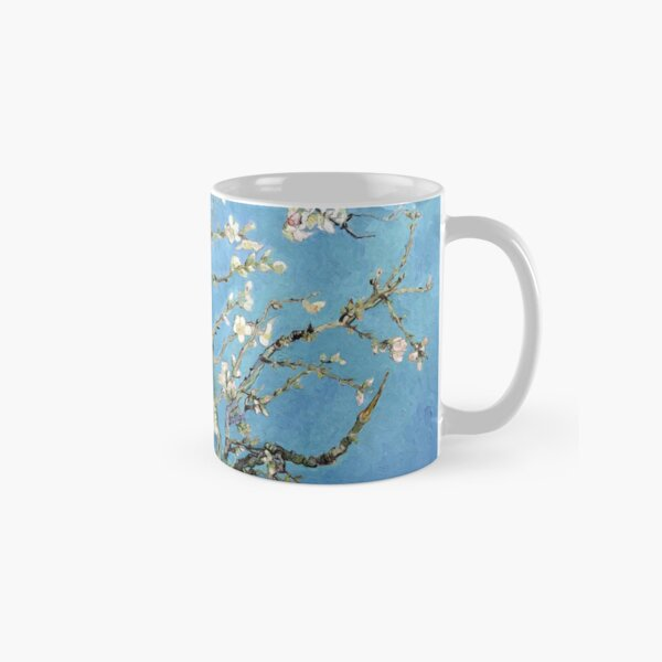 Enhanced van Gogh Painting, Almond Blossom (1890), Natural Classic Mug