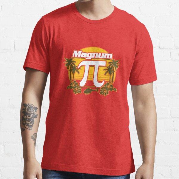 Magnum Pi Funny Vintage Sunset Hawaiian Island Design Essential T-Shirt