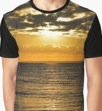 Gardiners Bay Morning   Orient Point, New York Graphic T-Shirt