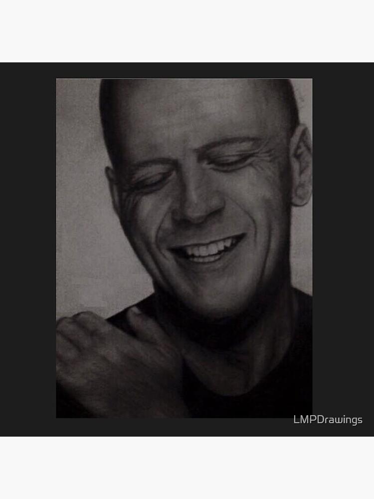 Bruce Willis Zeichnung von LMPDrawings
