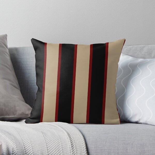 Double Striper 1.1 Throw Pillow