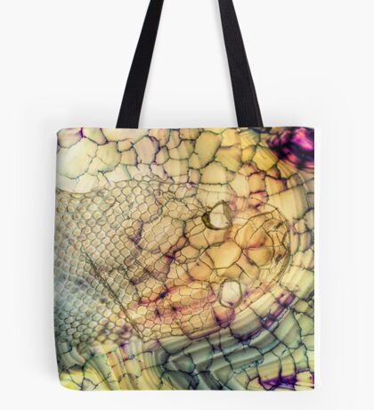 Ghost Snake Tote Bag