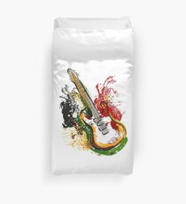 Electric guitar. Duvet Cover