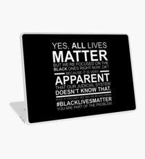 Vinilo para portátil Las vidas negras importan