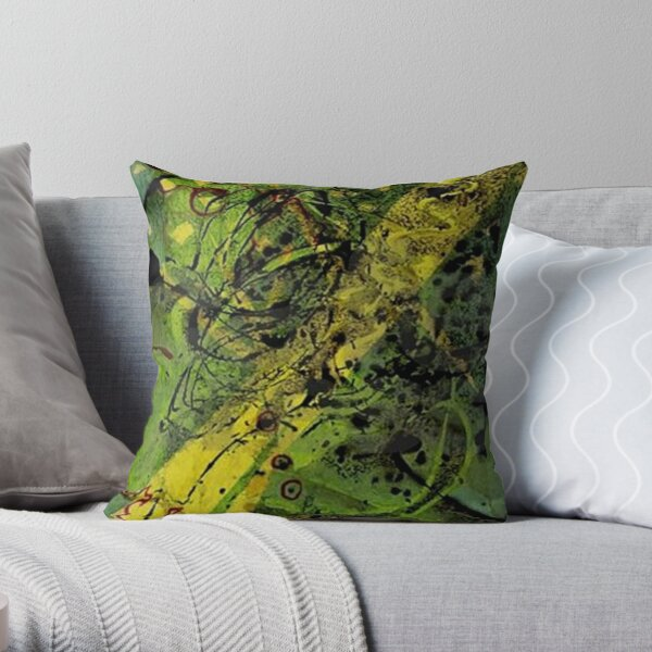 Walk In The Park With Tony Throw Pillow