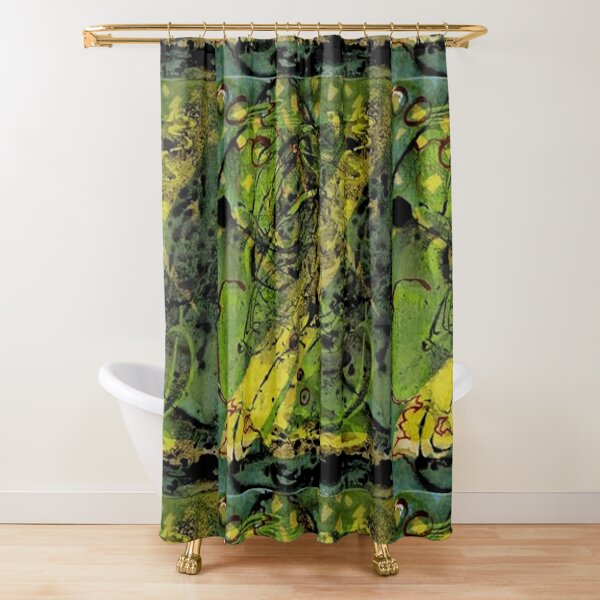 Walk In The Park With Tony Shower Curtain