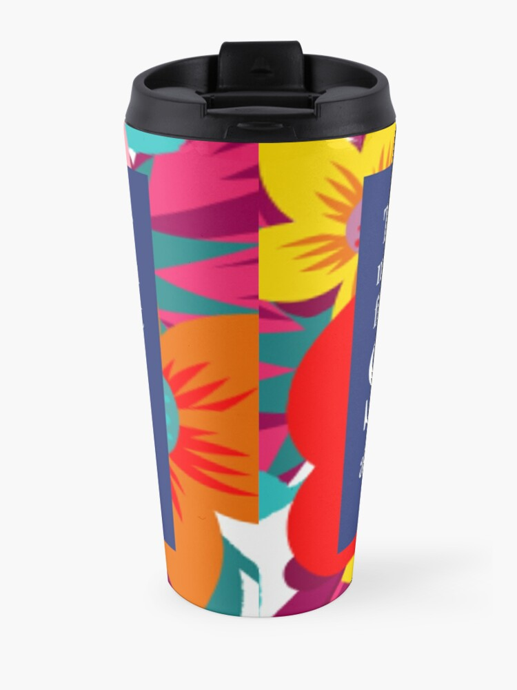 Alternate view of THE RIGHT STORY Travel Mug