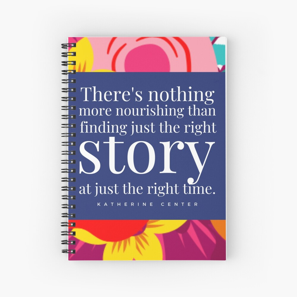 THE RIGHT STORY Spiral Notebook