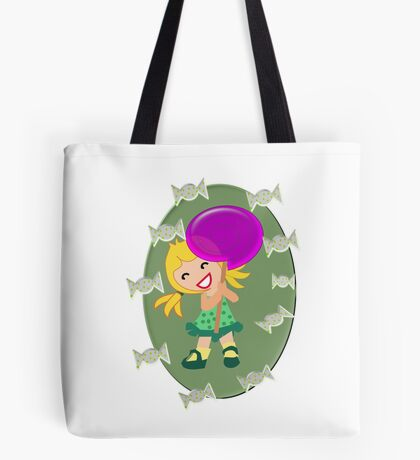 Lollipop Girl  (13514 views) Tote Bag