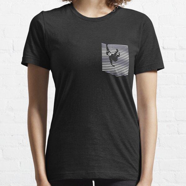 Hanging Monkey on the Pocket Unisex Novelty Pocket Monkey Essential T-Shirt