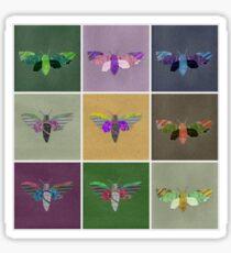 Moths 1 Sticker