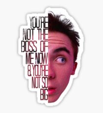 you're not the boss of me now Sticker