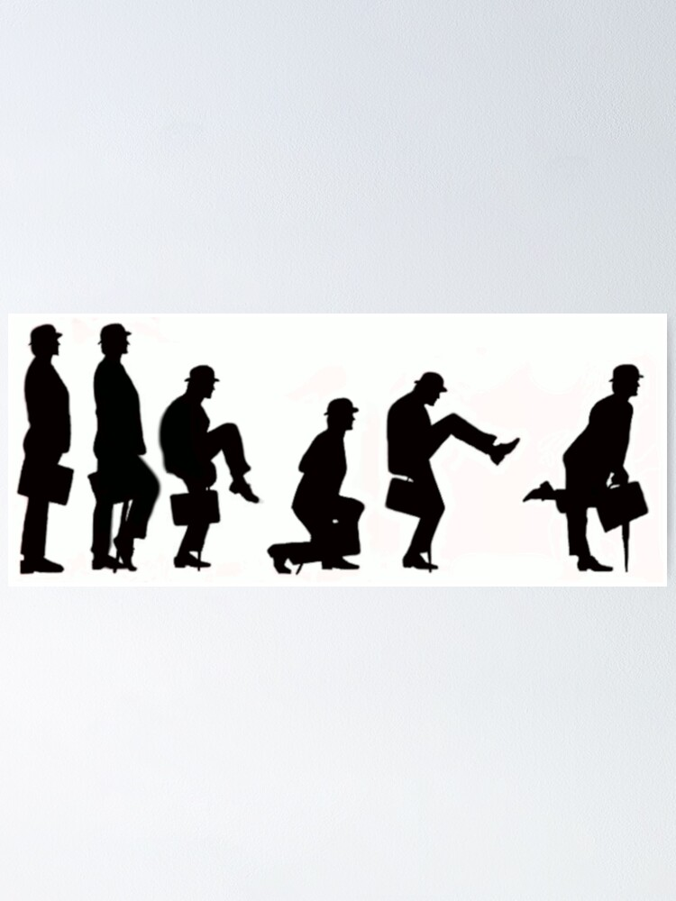 Alternate view of MINISTRY OF SILLY WALKS Poster
