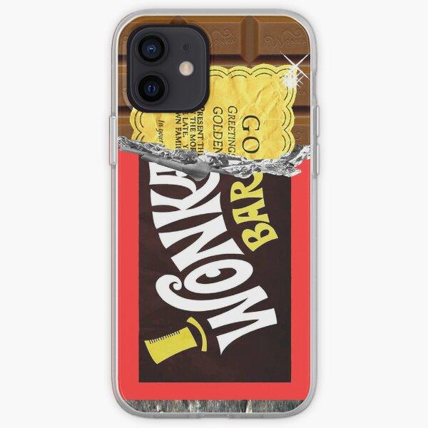 Wonka Chocolate Bar Golden Ticket iPhone Soft Case