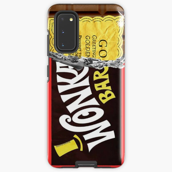 Wonka Chocolate Bar Golden Ticket Samsung Galaxy Tough Case