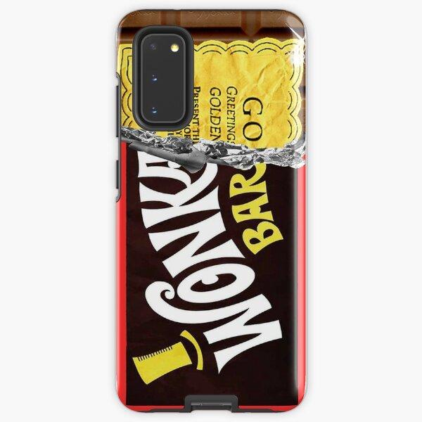Wonka Schokoriegel Golden Ticket Samsung Galaxy Robuste Hülle