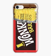 Wonka Chocolate Bar Golden Ticket iPhone Case/Skin