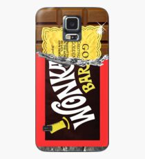 Wonka Chocolate Bar Golden Ticket Case/Skin for Samsung Galaxy
