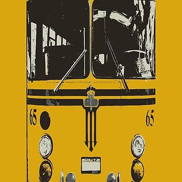 Yellow School Bus by dezing