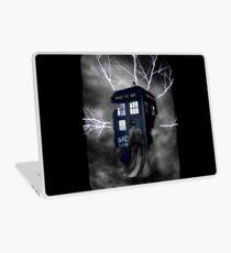 Lightning Blue Box Laptop Skin