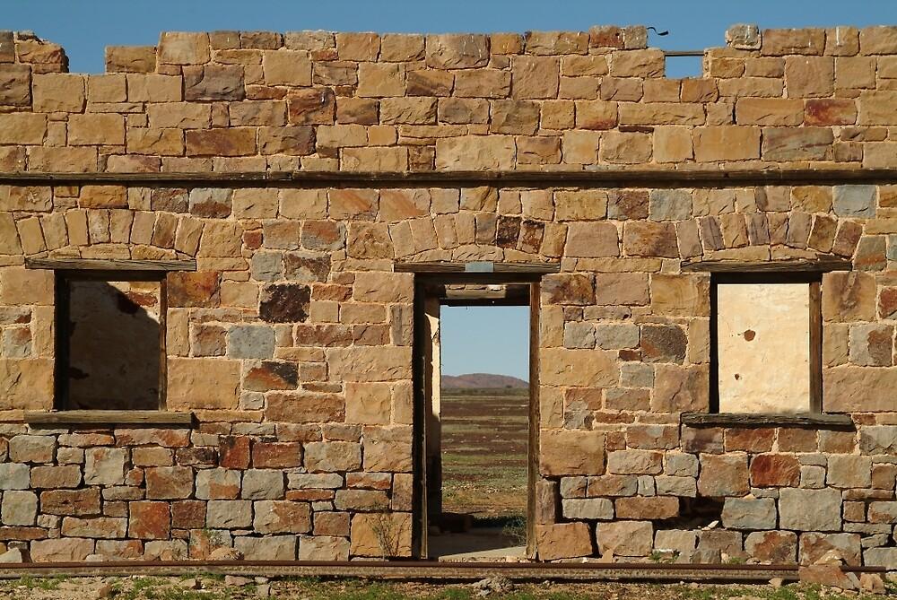 Joe Mortelliti Gallery - North Peake Ruins, Old Ghan Railway, South Australia.  by thisisaustralia