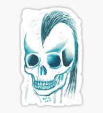 Punk Skull Sticker