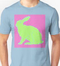 Grüner Hase Unisex T-Shirt