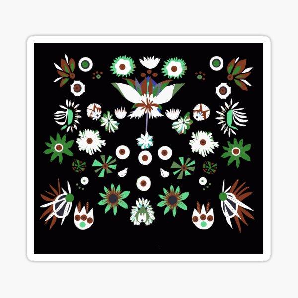 Flower bomb Sticker