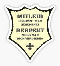 Coole Sprüche T Shirts / Mitleid 2 Sticker