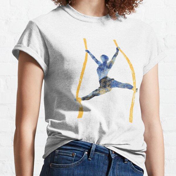 Aerial Contortion-Aerialist 9 (WB) Classic T-Shirt