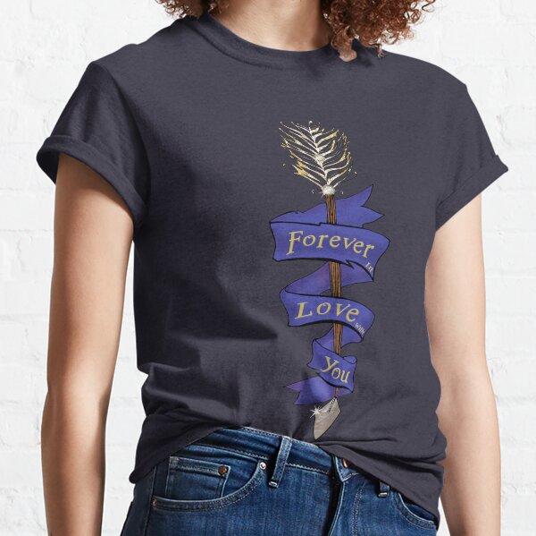 Cupid's Arrow In Blue Classic T-Shirt