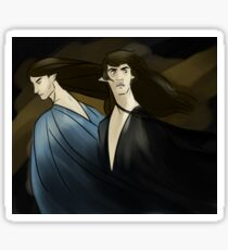 Feanor and Finwe in Mandos Sticker
