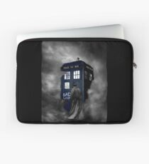 Blue Box in The Mist Laptop Sleeve