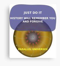 Parallel Universes - Nike Canvas Print