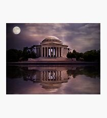 Jefferson Memorial - Washington DC Photographic Print