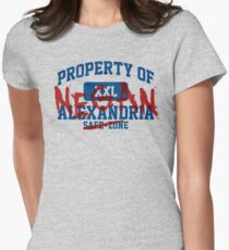 Property of Negan Women's Fitted T-Shirt