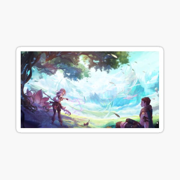 Fantasy adventures Sticker