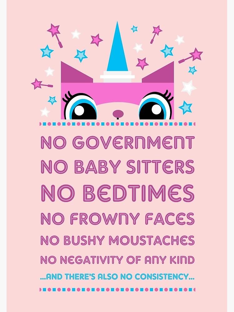 Rules By Princess Unikitty (UK Version) by Pixel-Born