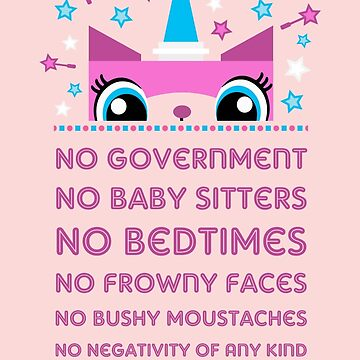 Rules By Princess Unikitty (UK Version) by Pixel-Born