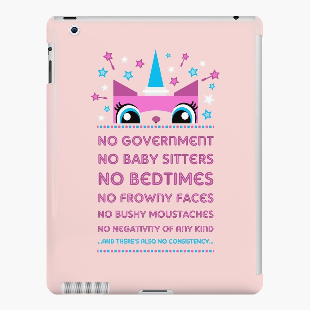 Regeln von Prinzessin Unikitty (UK Version) iPad-Hülle & Skin