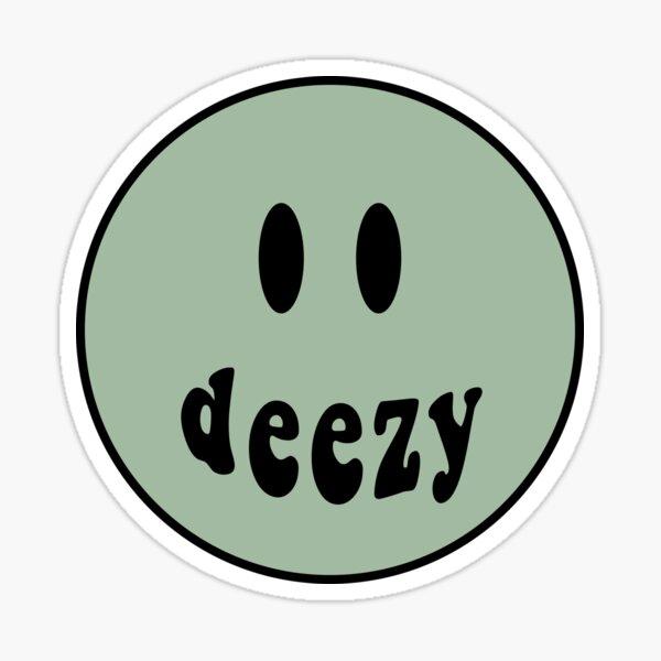 Deezy Smiley Face Sticker
