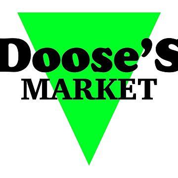 Dooses Markt (Alt) - Tasche, Stars Hollow von fandemonium