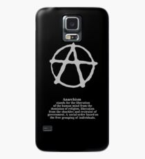 Anarchy. Case/Skin for Samsung Galaxy