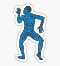 DAB HARING - BLUE Sticker