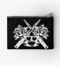 Switch blade romance inverted Zipper Pouch